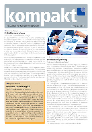 kompakt-newsletter-Kapitalgesellschaften-2019-02