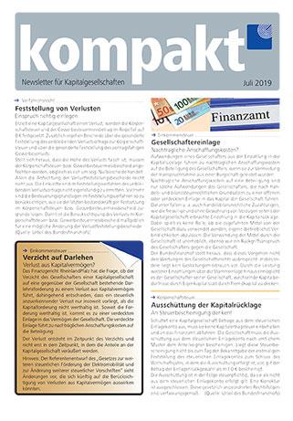 kompakt-newsletter-Kapitalgesellschaften-2019-07
