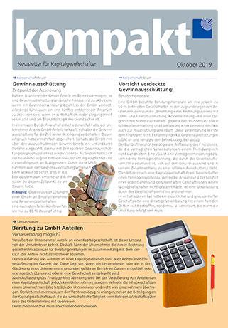 kompakt-newsletter-Kapitalgesellschaften-2019-10